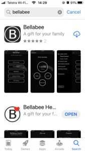 How_do_I_find_the_Bellabee_app